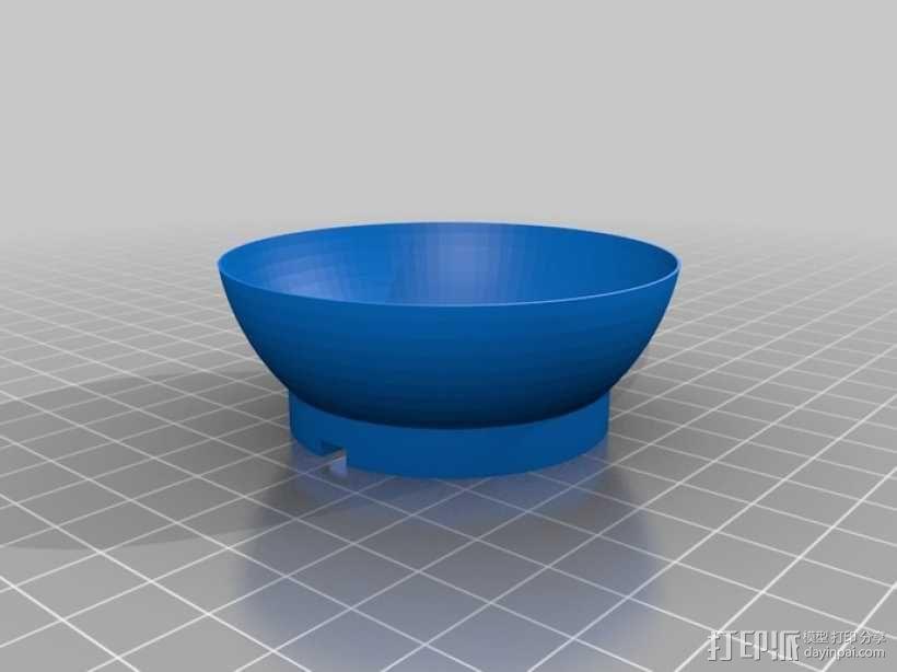 大功率LED灯 灯罩 3D模型  图2