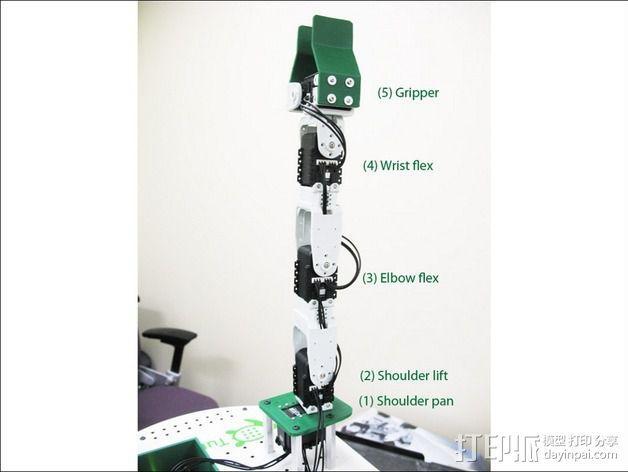 TurtleBot机械臂 3D模型  图3