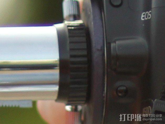 EF接环镜头聚焦器 3D模型  图5