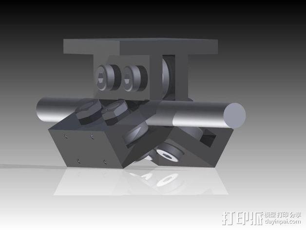 线性轴承 3D模型  图1