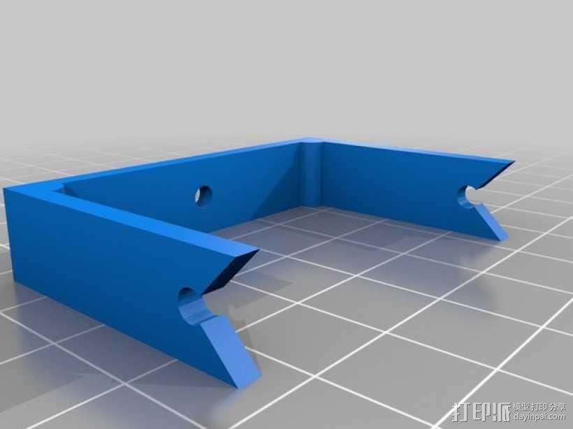 M12相机外壳 3D模型  图2