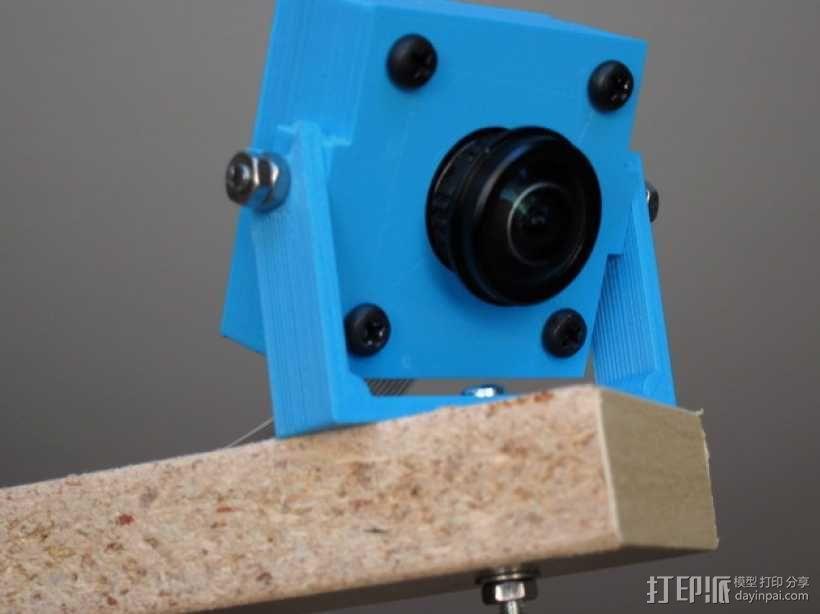 M12相机外壳 3D模型  图1