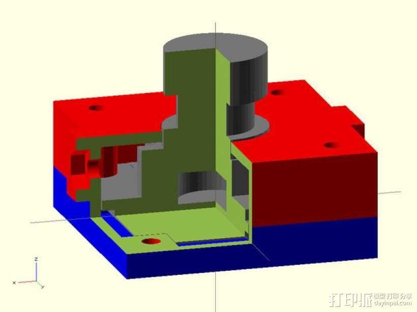 M12相机外壳 3D模型  图6