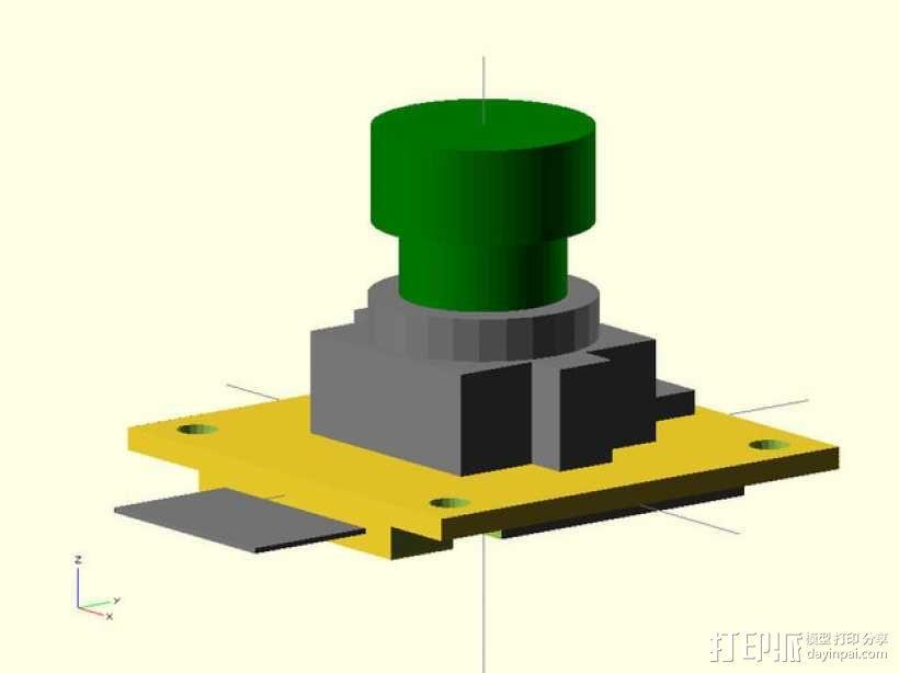M12相机外壳 3D模型  图7