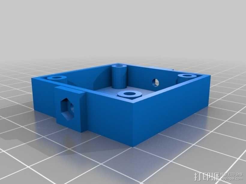 M12相机外壳 3D模型  图4