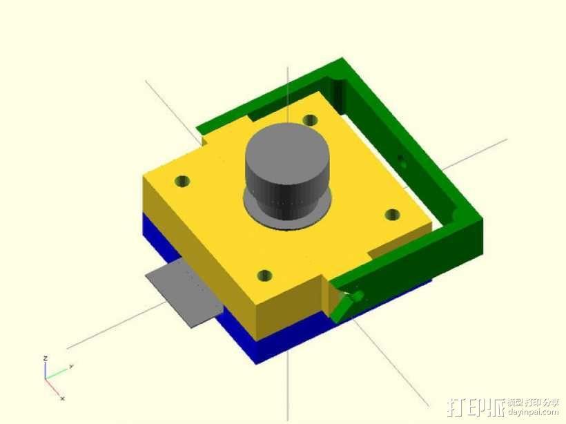 M12相机外壳 3D模型  图8