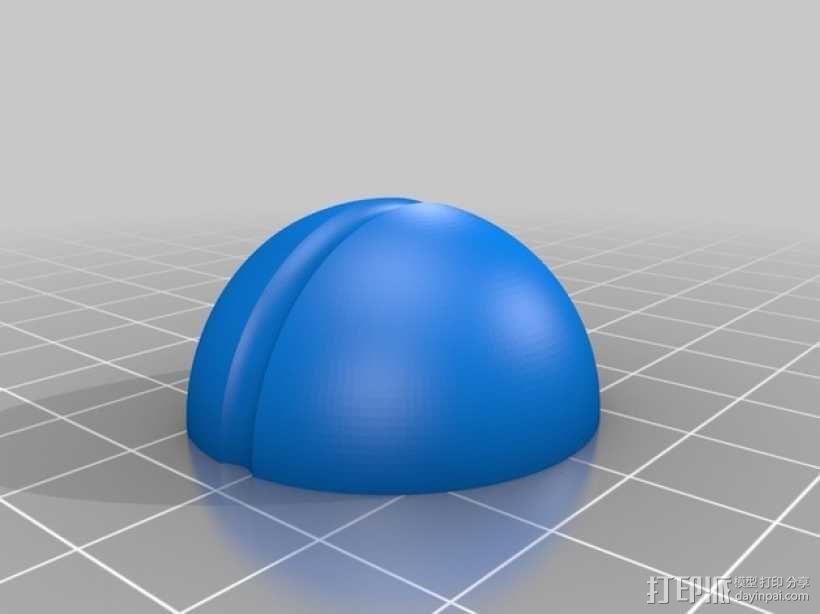 圆极化天线 外壳 3D模型  图1