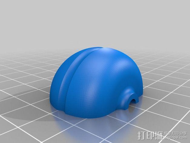 圆极化天线 外壳 3D模型  图2
