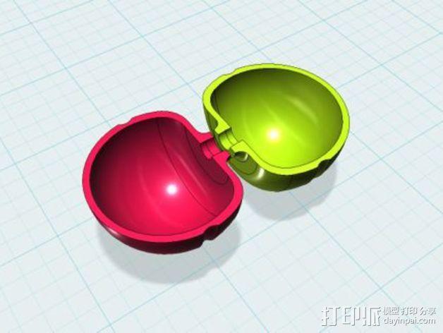 圆极化天线 外壳 3D模型  图4
