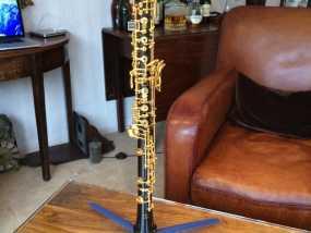 两头双簧管站架 3D模型