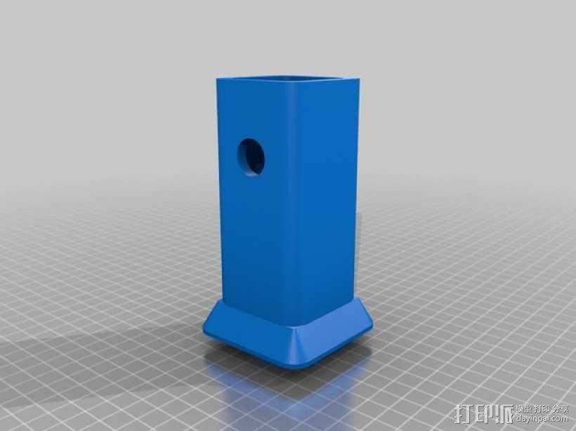 XLR拖车挂接装置 保护套 3D模型  图1