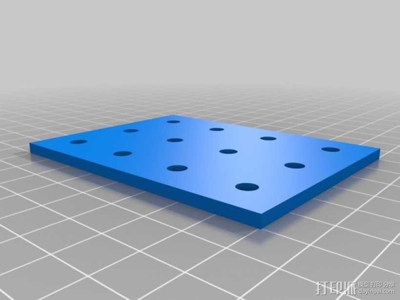 连接板 3D模型  图2