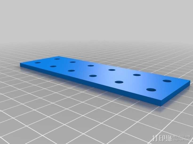 连接板 3D模型  图4