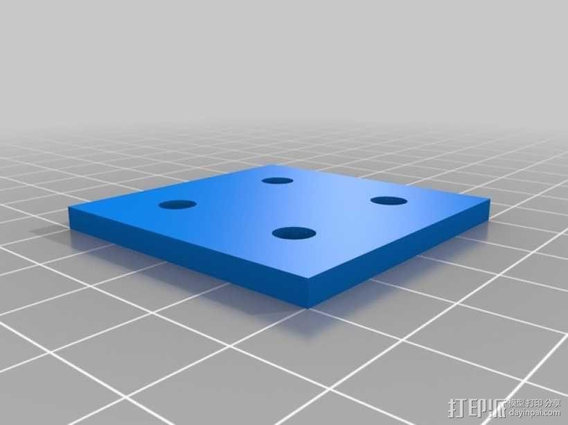 连接板 3D模型  图5