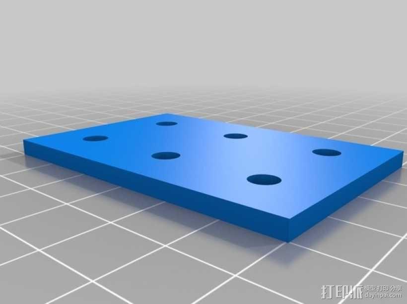 连接板 3D模型  图6