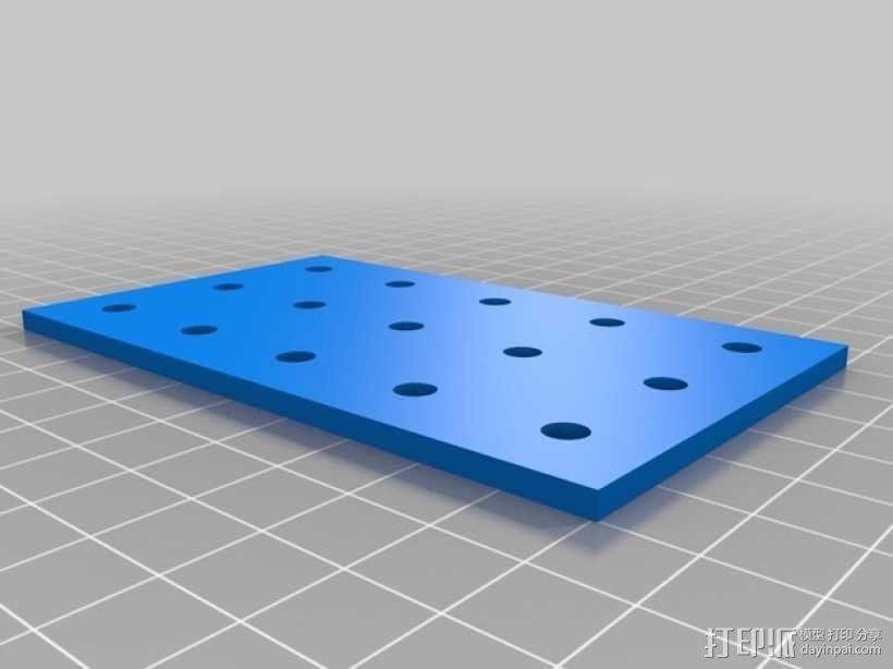 连接板 3D模型  图8