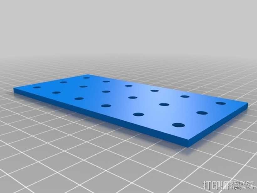 连接板 3D模型  图9