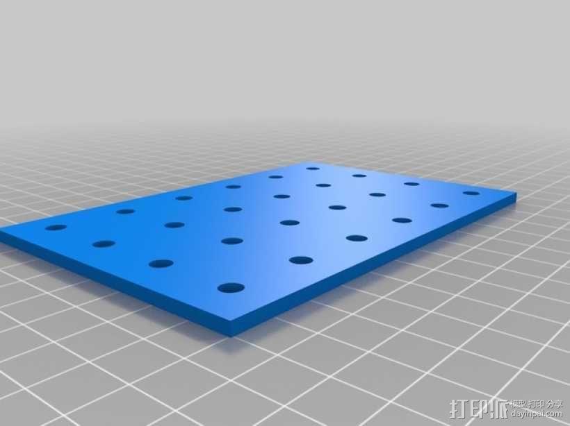 连接板 3D模型  图12