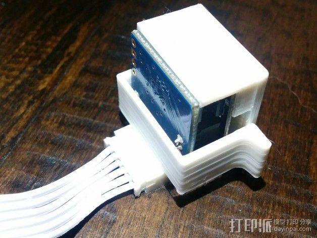 EZ机器人 相机支架 3D模型  图1