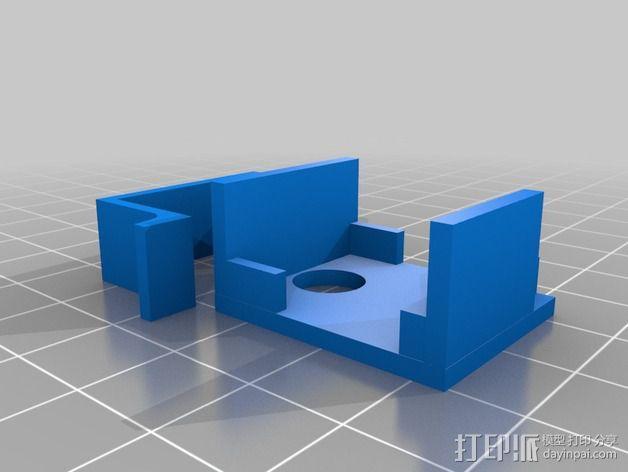 EZ机器人 相机支架 3D模型  图2