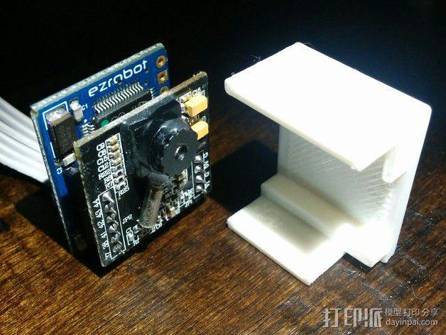 EZ机器人 相机支架 3D模型  图4