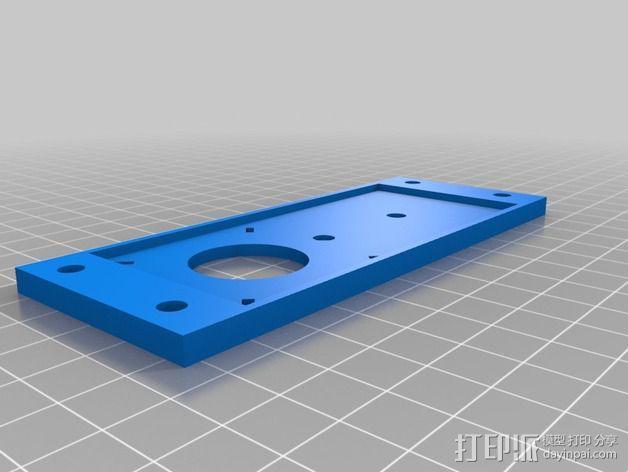 Nema 17步进电机伺服系统 3D模型  图2