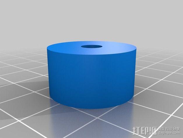 Nema 17步进电机伺服系统 3D模型  图5