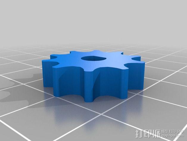 Nema 17步进电机伺服系统 3D模型  图6