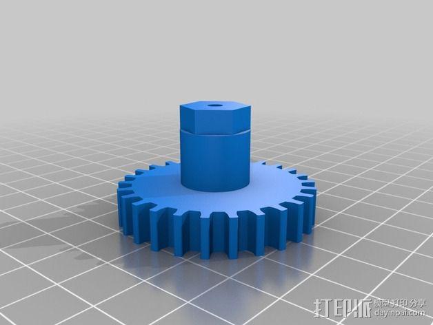Nema 17步进电机伺服系统 3D模型  图8
