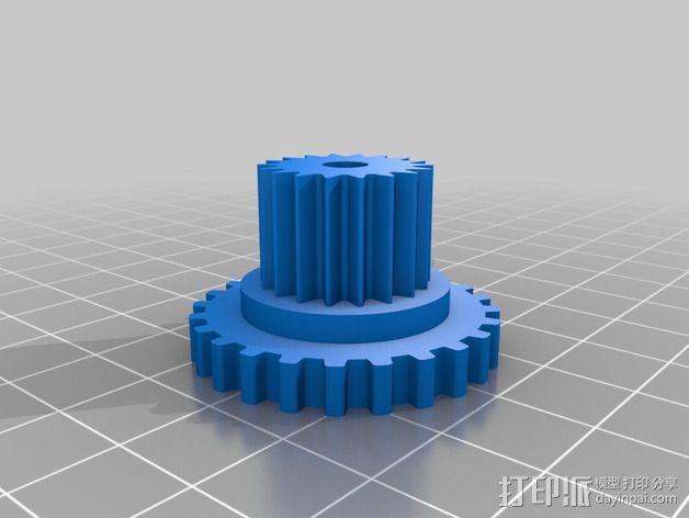 Nema 17步进电机伺服系统 3D模型  图7