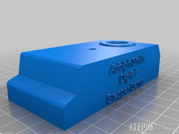 Nema 17步进电机伺服系统 3D模型  图9