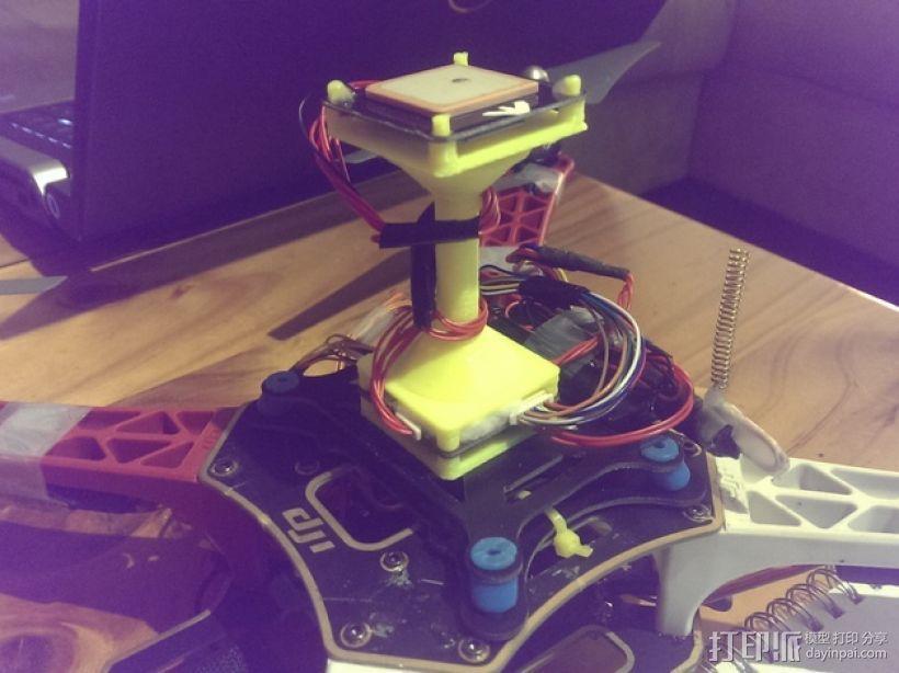 APM飞行控制器外壳 3D模型  图1