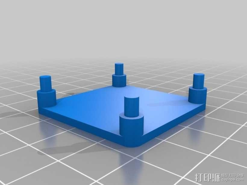 APM飞行控制器外壳 3D模型  图6