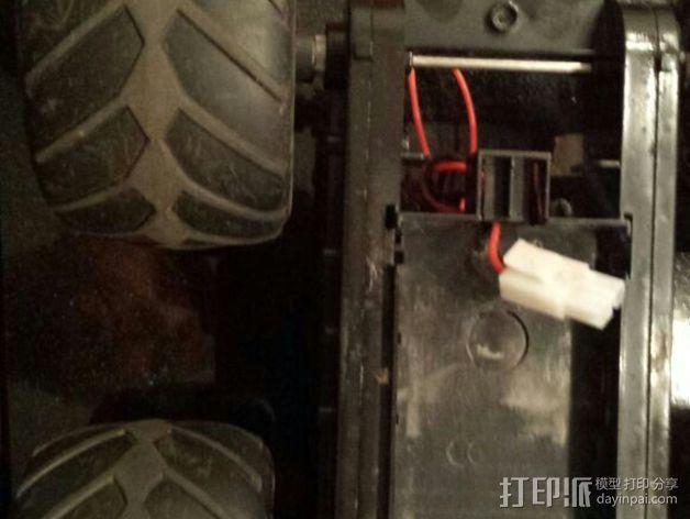 遥控赛车 轮轴 3D模型  图3