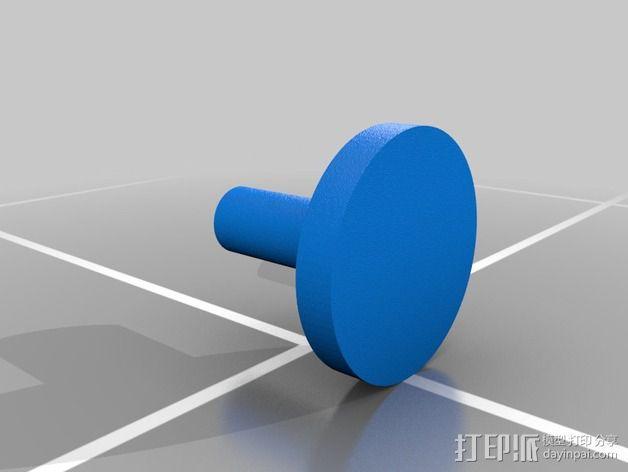 夹头 3D模型  图2