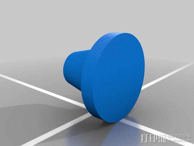 夹头 3D模型  图3