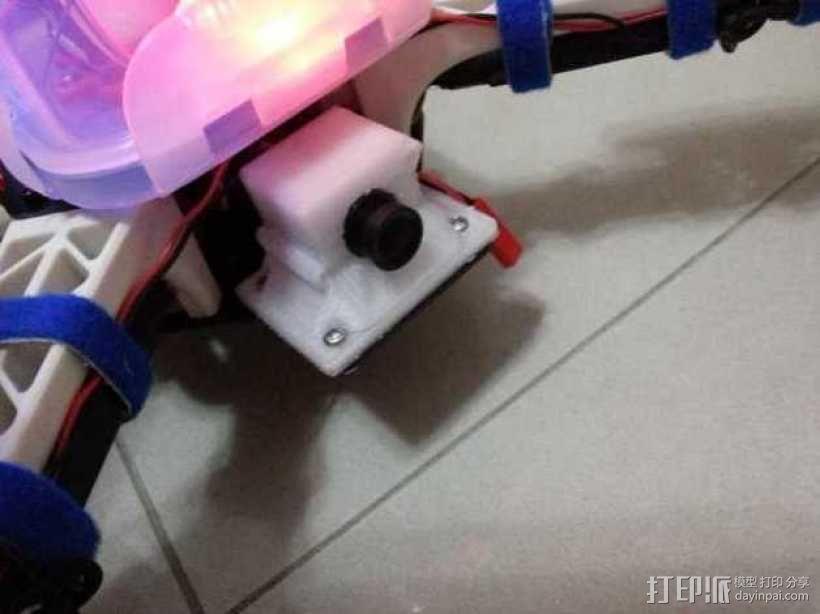 迷你摄影机支架 3D模型  图1