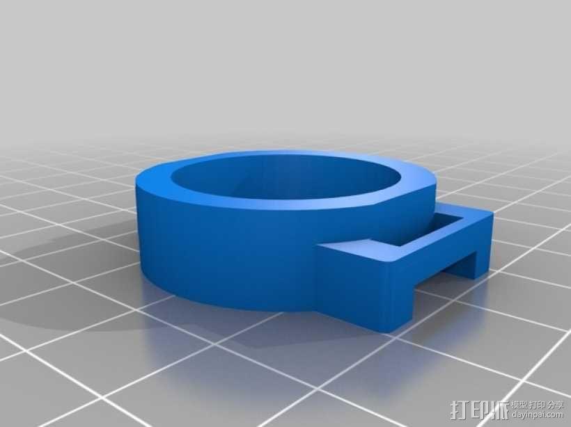 MHQ多轴飞行器 定制化零部件 3D模型  图6