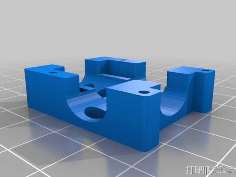 MHQ多轴飞行器 定制化零部件 3D模型  图5