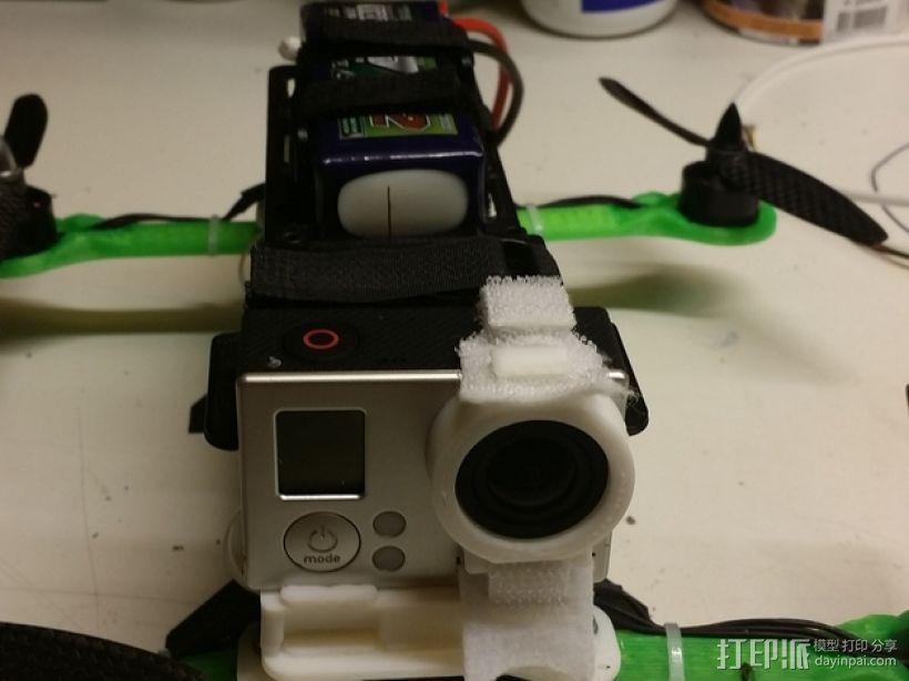 MHQ多轴飞行器 定制化零部件 3D模型  图10