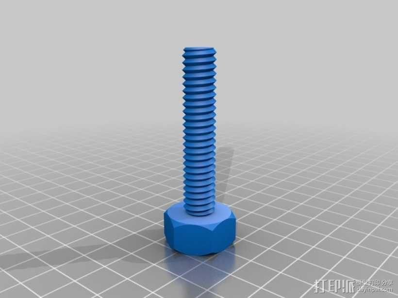 螺钉 3D模型  图1