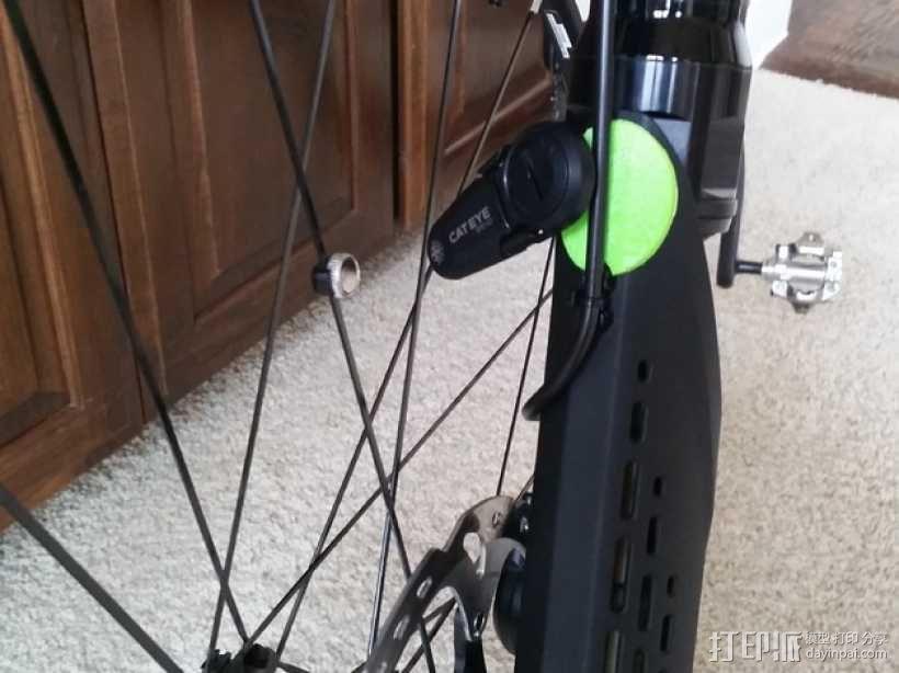 Cannondale自行车 传感器旋钮 3D模型  图1