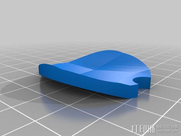 Cannondale自行车 传感器旋钮 3D模型  图2