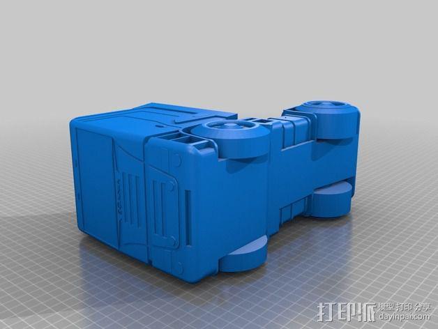 斯堪尼亚 卡车 3D模型  图2