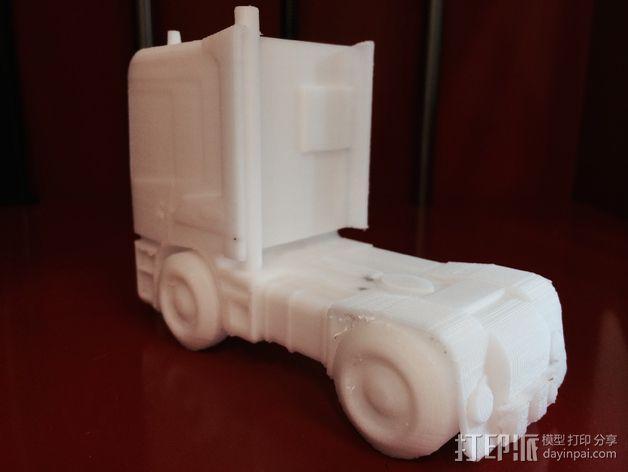 斯堪尼亚 卡车 3D模型  图4