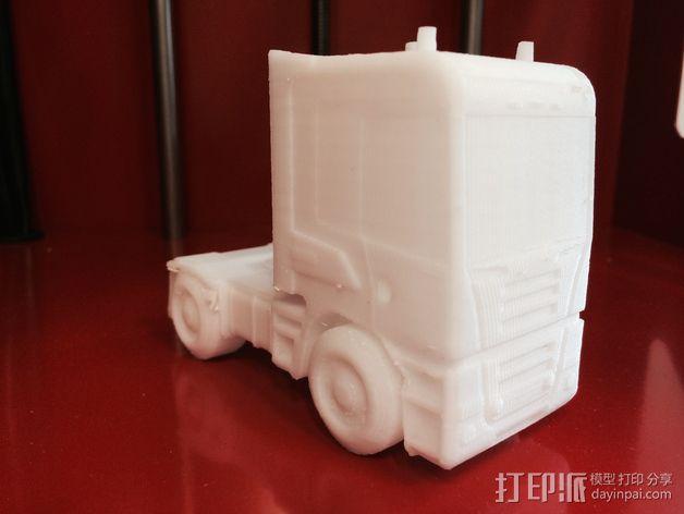 斯堪尼亚 卡车 3D模型  图5