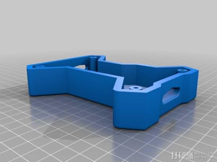 多轴飞行器底板 3D模型  图2