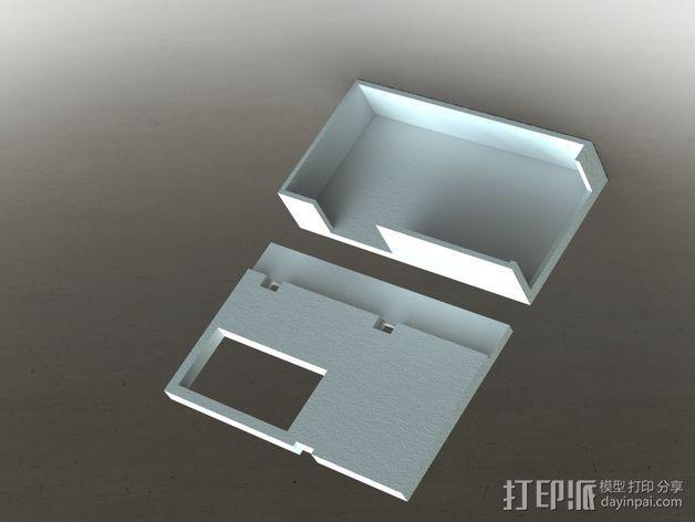 FOX 800 VTX 视频发射机外壳 3D模型  图1