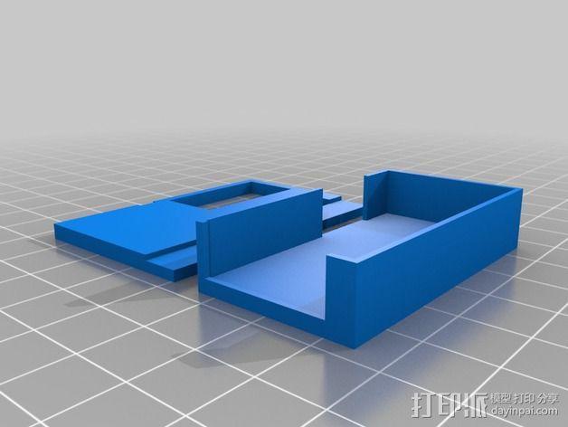 FOX 800 VTX 视频发射机外壳 3D模型  图2