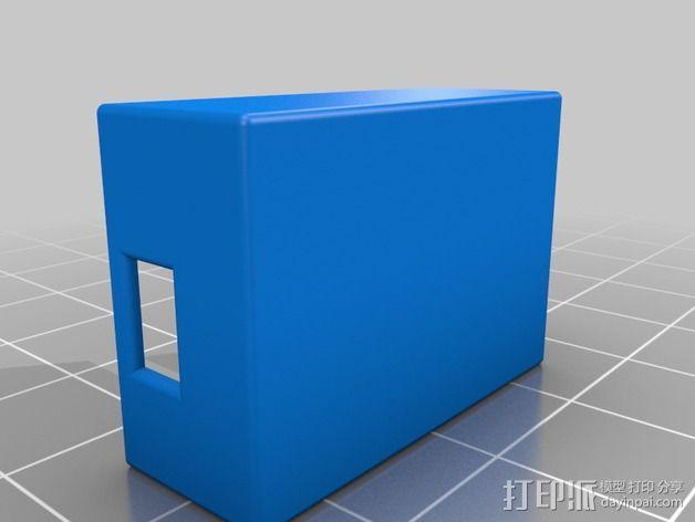 RX PPM接收机外壳 3D模型  图2